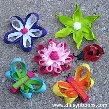 hair bow ribbon handmade hair bows ribbon flowers and butterflies things to