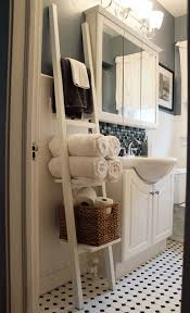 ideas for decorating bathroom wooden ladder ideas repurposed crafts