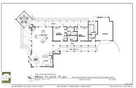 log home open floor plans architecture drawing plan interior design