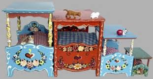 Dora Beds A Roombox With Large Scale Dora Kuhn Furniture A Dream In