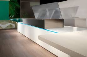 contemporary kitchen laminate lacquered milano scic