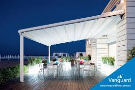 Material For Awnings Mediterranea Gibus Fabric Retractable Roof Awning Home Pool