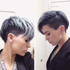trendy gray hair styles trendy short hairstyles for grey hair color hair beauty