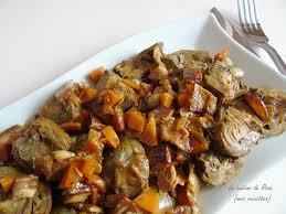 cuisiner les artichauts violets artichauts à la barigoule recette provençale la cuisine de