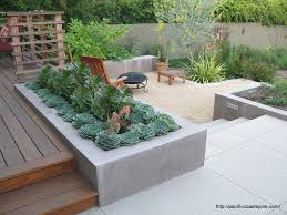 Small Backyard Design Concrete Backyard Design Home Interior Design Ideas