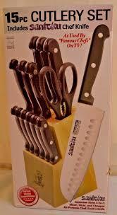 ebay kitchen knives masterchef duracut 15 pc 7