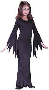 1960s Halloween Costume Child U0027s Girls Morticia Addams Family 1960s Halloween Fancy Dress