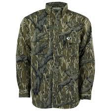 Mossy Oak Duck Blind Camo Clothing Men U0027s Hunting Shirts
