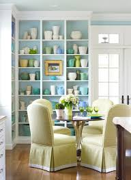 Dining Room Showcase Arrange Shelves To Showcase Collections Traditional Home
