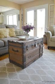 Side Table Ideas For Living Room Best 25 Old Trunks Ideas On Pinterest Trunks Decorative Trunks