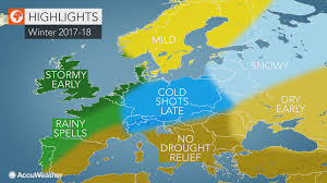 europe winter forecast uk to germany on alert for wind storms