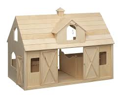 amazon com breyer traditional deluxe wood horse barn with cupola