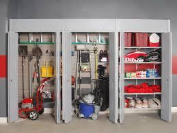 garage stunning design which has simple storage full size garage grey wall paint storage design with floating shelf stunning