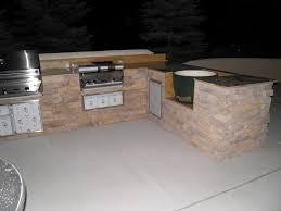 l shaped outdoor kitchen island desk design best l shaped