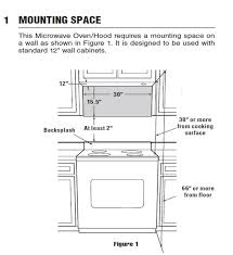 over range microwave no cabinet under cabinet microwave dimensions amazing over range google search