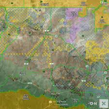 Navajo Reservation Map Arizona Game Management Unit 3a Wildlife