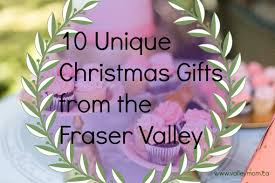 10 unique christmas gifts from the fraser valley under 20