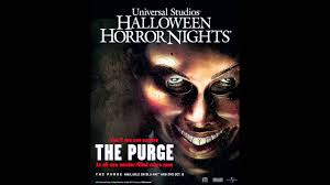 halloween horror nights soundtrack the purge survive the night scarezone audio youtube