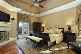 Pottery Barn Wall Colors Traditional Master Bedroom With High Ceiling By Home Stratosphere