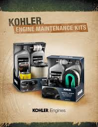 literature and brochures kohler engines