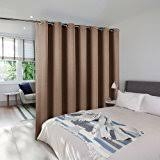 Panel Curtains Room Divider Amazon Com Roomdividersnow Muslin Room Divider Curtain 8ft Tall