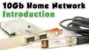 Large Home Network Design by 10gb Home Network P1 Introduction Youtube