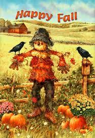 Fall Garden Flag Thanksgiving Scarecrows Garden Flags Page Two Thanksgiving Wikii