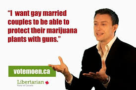 Libertarian Meme - first libertarian candidate to run fort mcmurray today
