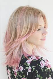 womens hairstyle spring 2015 pastel blonde and pink hair color latest hair styles cute