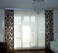 modern kitchen window curtains fully lined with floral pattern