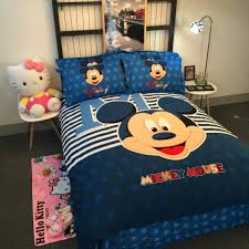 Mickey Mouse Queen Size Bedding Minnie Mickey Mickey Mouse Hello Kitty Cartoon Twin Full Queen