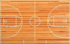 basketball gym floor plans basketball court floor plan on parquet background stock photo