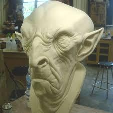 halloween prosthetic mask monster makers rd 407 mask latex halloween white 1 gallon