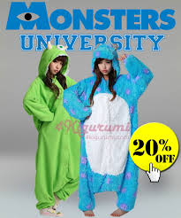 Sully From Monsters Inc Halloween Costume by Monsters University Animal Onesies