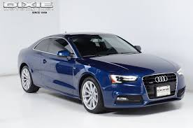 used audi a5 s line for sale 2015 used audi a5 premium plus s line local one owner at dixie