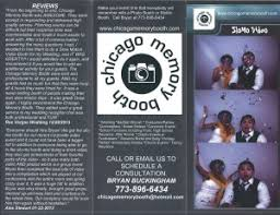 chicago photo booth rental chicago slo mo booth rental brochures just arrived chicago