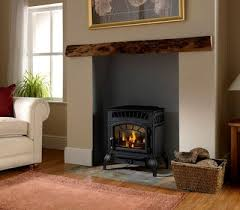 Free Standing Gas Fireplace by Kingsman Fvf350 Free Standing Ventless Stove Woodlanddirect