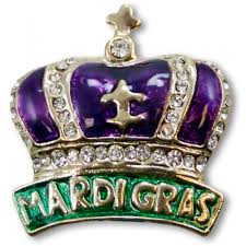 mardi gras pins 1 purple mardi gras crown pin jejp226 mardigrasoutlet