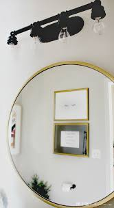 Art For Powder Room Powder Room Refresh Diy Art On The Cheap This Is Our Bliss