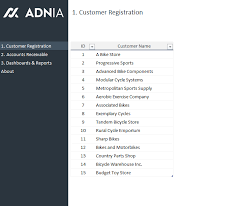 accounts receivable report template accounts receivable dashboard template adnia solutions