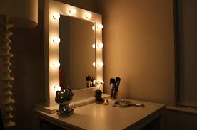 bedroom vanity with lighted mirror lighted mirror vanity hollywood characteristics of lighted