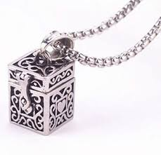 memorial jewelry for ashes high quality stainless steel funeral tibetan memorial necklace