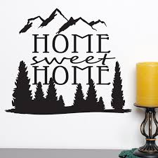 home sweet home quote wall sticker world of wall stickers home sweet home quote wall sticker decal a