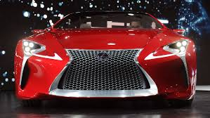 lexus lf lc play station lexus lf lc hybrid sport coupe concept receives 2012 eyeson design