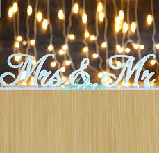 mr and mrs sign for wedding aliexpress buy wedding decor rustic wedding sign mr mrs