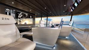 Zen Design Concept by This Two Deck Superyacht Concept Could Be The Ultimate Party Barge