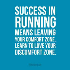 How To Leave Comfort Zone Running A Lot Faster Would Rely On Your Energy Physical Health
