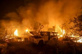 Wildfire Cali by 82 640 People Evacuated From Massive 30 000 Acre California