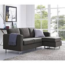 Charcoal Gray Sectional Sofa With Chaise Lounge by Venetian Worldwide Taylor 2 Piece Chocolate Brown Corduroy