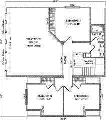 pinecliffe by wardcraft homes two story floorplan